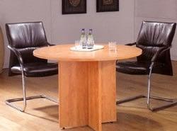 Prime Honey Oak Round Table